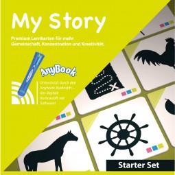 Starter Set My Story Premium Lernkarten (Bauernhof/Pirat) & Anybook Audiostift