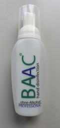 BAAC Händedesinfektion 100 ml Flasche