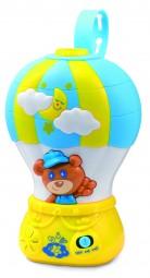 Spieluhr Air Balloon mit Deckenlichtprojektion