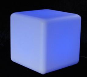 Solar-Gartenleuchte 30 cm Cube