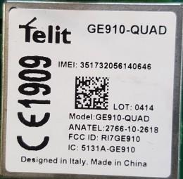 Telit GE910-QUAD 2G GSM Modul