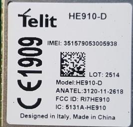 Telit HE910-D 3G GSM Modul