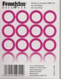 Anybook Aufkleber-Set Rot für DRP-5100