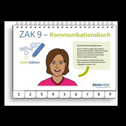 ZAK 9 Kommunikationsbuch für Damen Audio-Edition