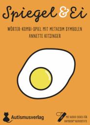 Spiegel & Ei Wörter-Kombi-Spiel mit METACOM Symbolen und Anybook Audiocodes