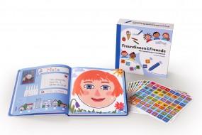 """Anybook Set """"Freundinnen & Freunde - Mein sprechendes Freundebuch"""" mit Aufbewahrungsbox"""