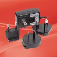 Switching Adapter 9V@0.66A Molex Plug internat., input blades (UL, VDE, UK, SAA), RoHS