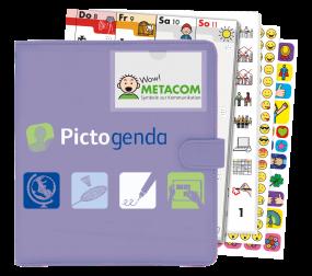 Pictogenda 2021 Terminplaner mit METACOM Symbolen und Anybook Audiocodes