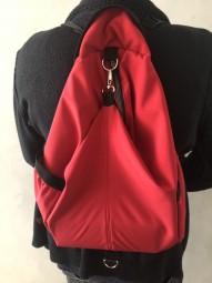 Rucksack - Wanderrucksack Reisetasche Universell in Rot