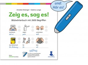 "Bundle ""Zeig es, Sag es!"" Bildwörterbuch 3. Auflage 2019 & Anybook Audiostift"